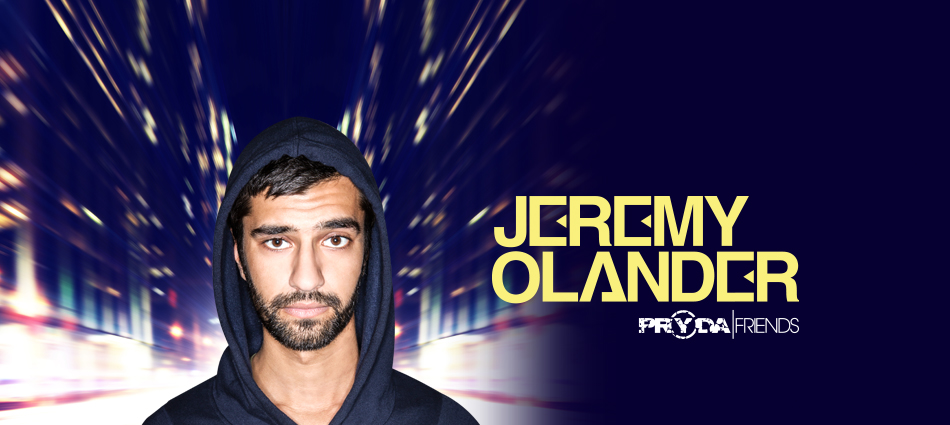 Jeremy Olander Pryda Friends October Headline Tour